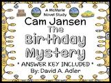 Cam Jansen and the Birthday Mystery (David A. Adler) Novel Study / Comprehension
