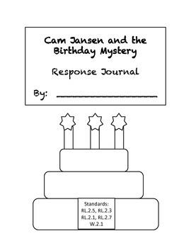 Cam Jansen and the Birthday Mystery Response Journal