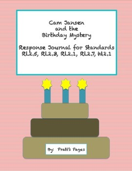 Cam Jansen and the Birthday Mystery Response Journal