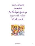 Cam Jansen and the Birthday Mystery by David Adler: Workbook