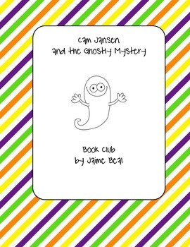 Cam Jansen and the Ghostly Mystery Book Club