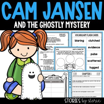 Cam Jansen and the Ghostly Mystery Book Questions & Vocabulary