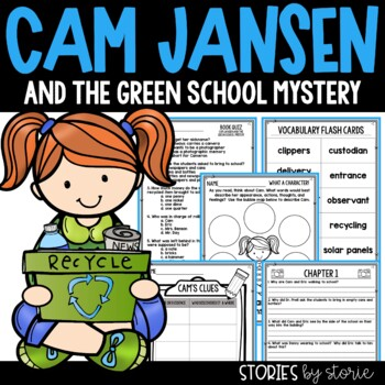 Cam Jansen and the Green School Mystery Book Questions and