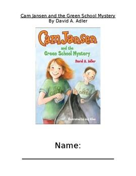 Cam Jansen and the Green School Mystery Novel Study