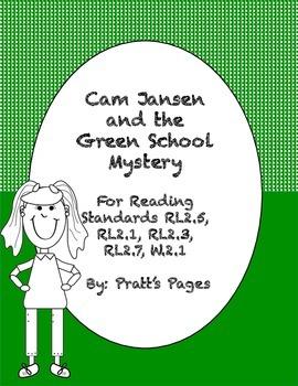 Cam Jansen and the Green School Mystery Response Journal