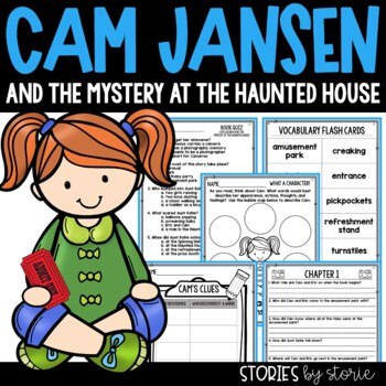 Cam Jansen and the Mystery at the Haunted House Book Questions & Vocabulary