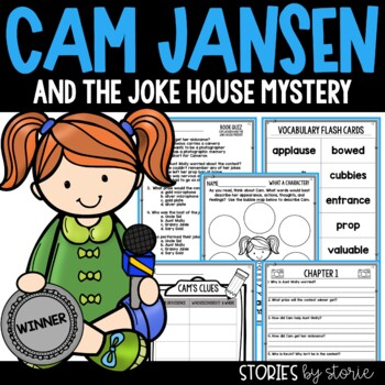 Cam Jansen and the Joke House Mystery Book Questions & Vocabulary