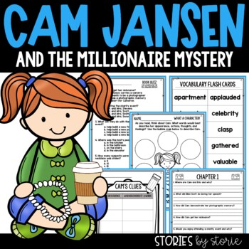 Cam Jansen and the Millionaire Mystery Book Questions & Vocabulary