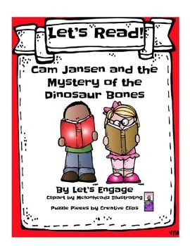 Cam Jansen and the Missing Dinosaur Bones: Let's Read! (Reading Resp. Pk. GR L)