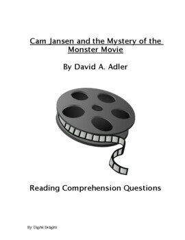 Cam Jansen and the Monster Movie Reading Comprehension Questions and Vocabulary