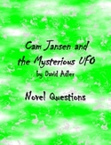 Cam Jansen and the Mysterious UFO Novel Questions