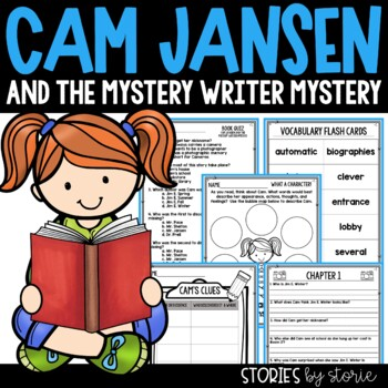 Cam Jansen and the Mystery Writer Mystery Book Questions & Vocabulary