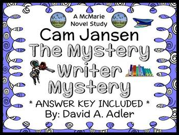 Cam Jansen and the Mystery Writer Mystery (David A. Adler) Novel Study