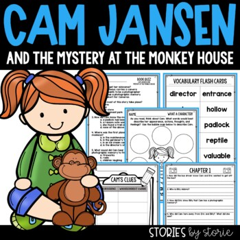 Cam Jansen and the Mystery at the Monkey House Book Questions and Vocabulary