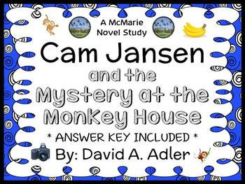 Cam Jansen and the Mystery at the Monkey House (David A. Adler) Novel Study