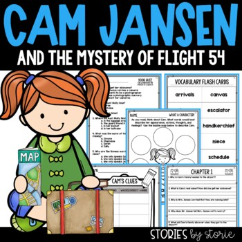 Cam Jansen and the Mystery of Flight 54 Book Questions and Vocabulary