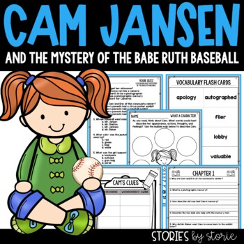 Cam Jansen and the Mystery of the Babe Ruth Baseball Book Questions & Vocabulary