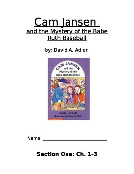 Cam Jansen and the Mystery of the Babe Ruth Baseball Literature guide
