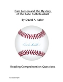 Cam Jansen and the Mystery of the Babe Ruth Baseball Reading Comprehension Quest