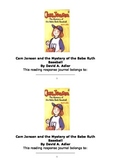 Cam Jansen and the Mystery of the Babe Ruth Baseball Response Journal Workbook