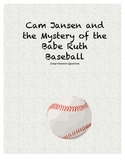 Cam Jansen and the Mystery of the Babe Ruth baseball comp questions