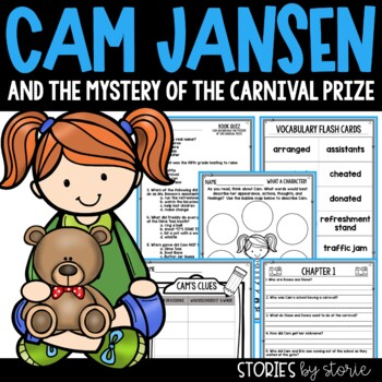 Cam Jansen and the Mystery of the Carnival Prize Book Questions & Vocabulary