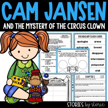 Cam Jansen and the Mystery of the Circus Clown Book Questions & Vocabulary