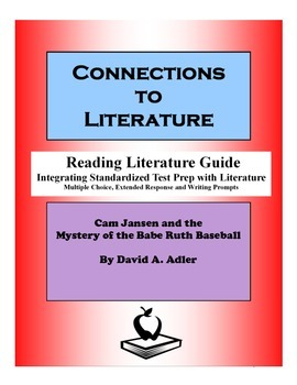 Cam Jansen and the Mystery of the Dinosaur Bones-Reading Literature Guide