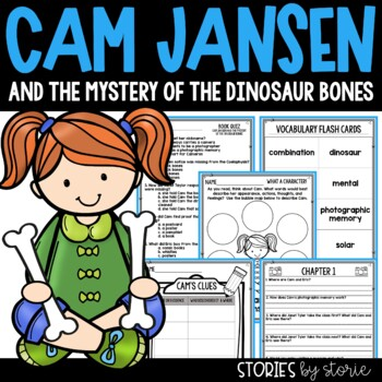 Cam Jansen and the Mystery of the Dinosaur Bones Book Questions and Vocabulary