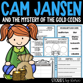 Cam Jansen and the Mystery of the Gold Coins Book Question