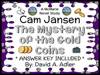 Cam Jansen and the Mystery of the Gold Coins (David A. Adler) Novel Study