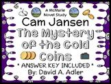 Cam Jansen: The Mystery of the Gold Coins (David A. Adler) Novel Study  (24 pgs)