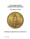 Cam Jansen and the Mystery of the Gold Coins Reading Comprehension Questions