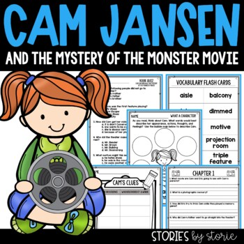 Cam Jansen and the Mystery of the Monster Movie Book Questions & Vocabulary