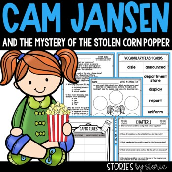 Cam Jansen and the Mystery of the Stolen Corn Popper Book