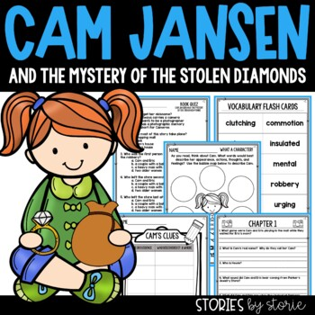 Cam Jansen and the Mystery of the Stolen Diamonds Book Que