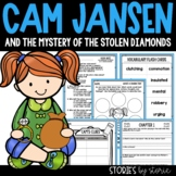 Cam Jansen and the Mystery of the Stolen Diamonds Book Questions and Vocabulary