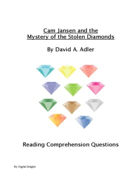 Cam Jansen and the Mystery of the Stolen Diamonds Reading Comprehension Question