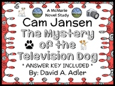 Cam Jansen and the Mystery of the Television Dog (David A. Adler) Novel Study