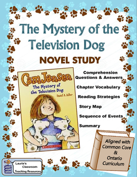 Cam Jansen and the Mystery of the Television Dog Novel Study