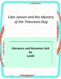 Cam Jansen and the Mystery of the Television Dog Literature and Grammar Unit