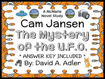 Cam Jansen and the Mystery of the UFO (David Adler) Novel Study / Comprehension