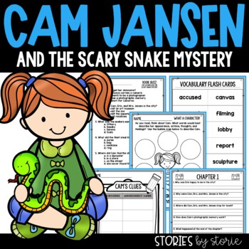 Cam Jansen and the Scary Snake Mystery Book Questions & Vocabulary