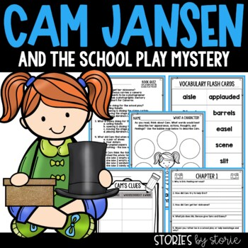 Cam Jansen and the School Play Mystery Book Questions & Vocabulary