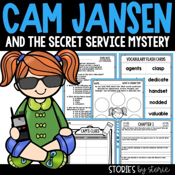 Cam Jansen and the Secret Service Mystery Book Questions & Vocabulary