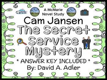 Cam Jansen and the Secret Service Mystery (David A. Adler) Novel Study
