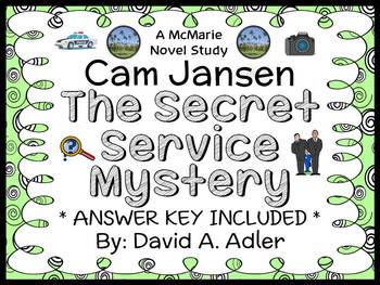 Cam Jansen and the Secret Service Mystery (David A. Adler)