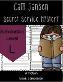 Cam Jansen and the Secret Service Mystery Novel Study