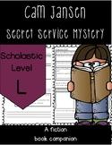 Cam Jansen and the Secret Service Mystery Novel Study