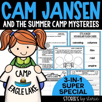 Cam Jansen and the Summer Camp Mysteries Book Questions & Vocabulary